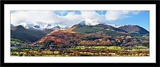 Grisedale Pike and the Coledale Fells