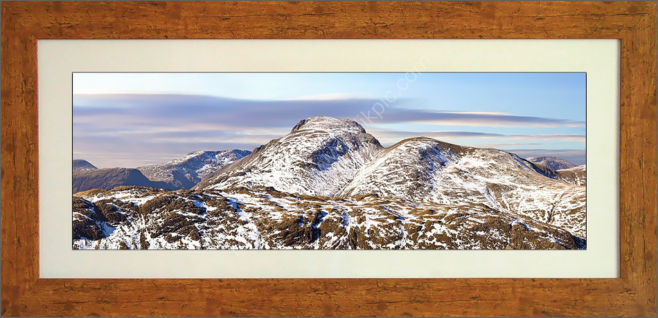 Great Gable from Glaramara