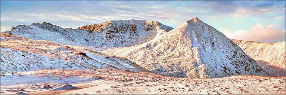 Helvellyn in Winter
