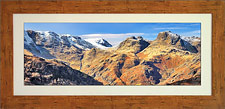 Langdale Pikes in Winter