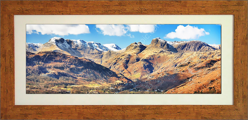 Langdale Pikes and Bowfell