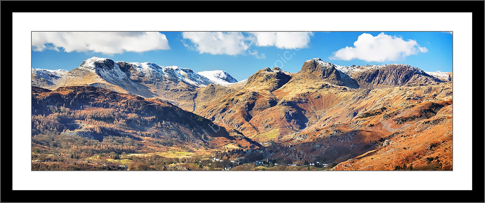 Langdale Pikes and Chapel Stile