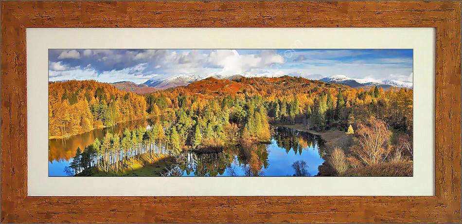 Tarn Hows in autumn
