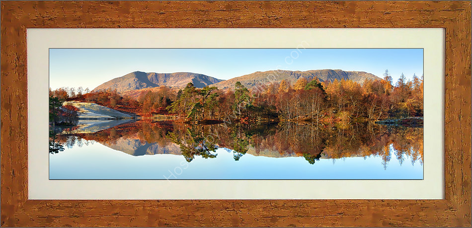 Wetherlam and Coniston Fells from Tarn Hows