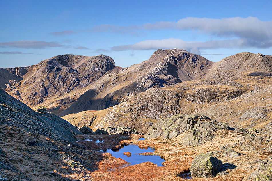 Scafell from Crinkle Crags 2