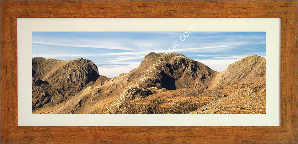 Scafell from Bowfell