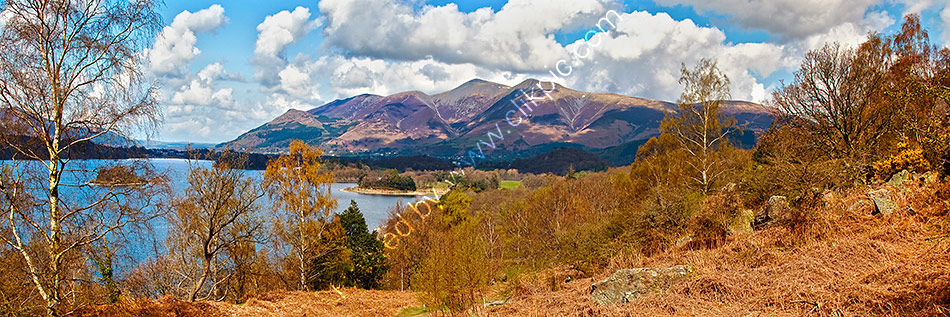 Skiddaw from Falcon Crags 2 Print
