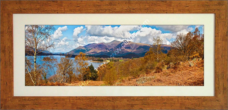 Skiddaw from Falcon Crags 2 Framed