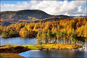 Tarn Hows in autumn 2