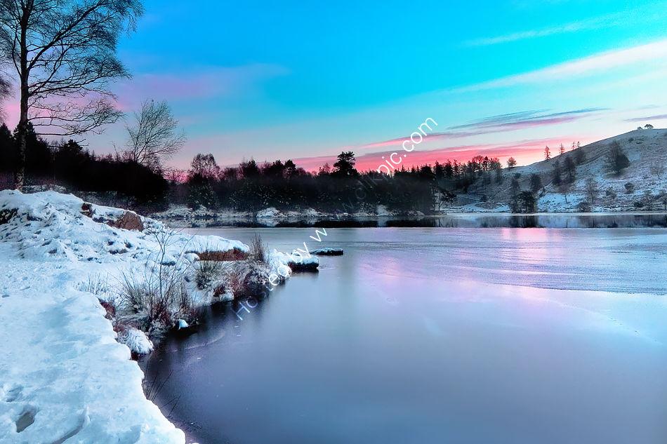 Tarn Hows in Winter 1