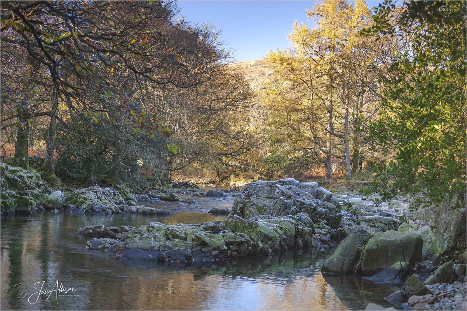 The River Ask at Eskdale