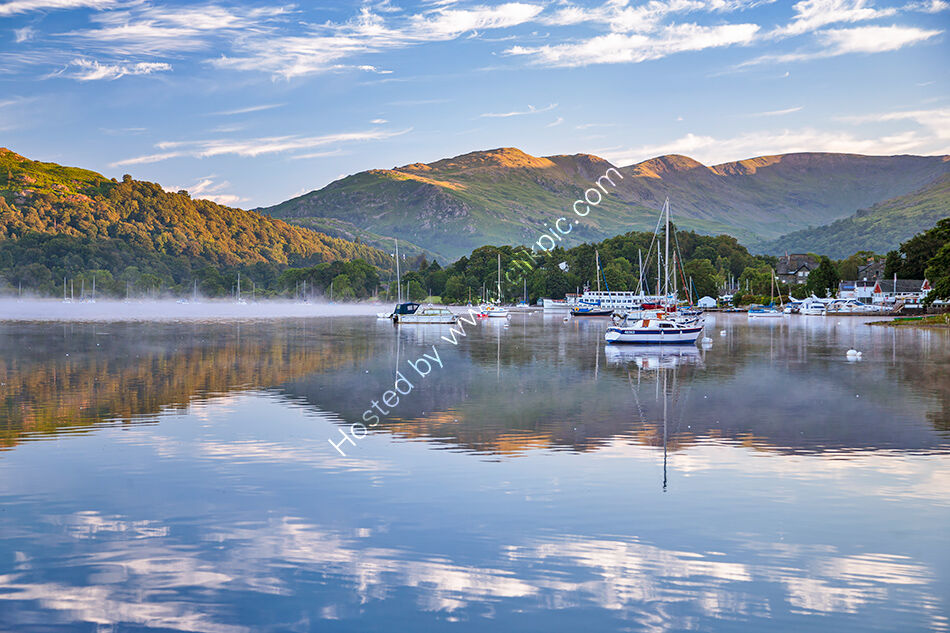 Windermere yachts at Ambleside