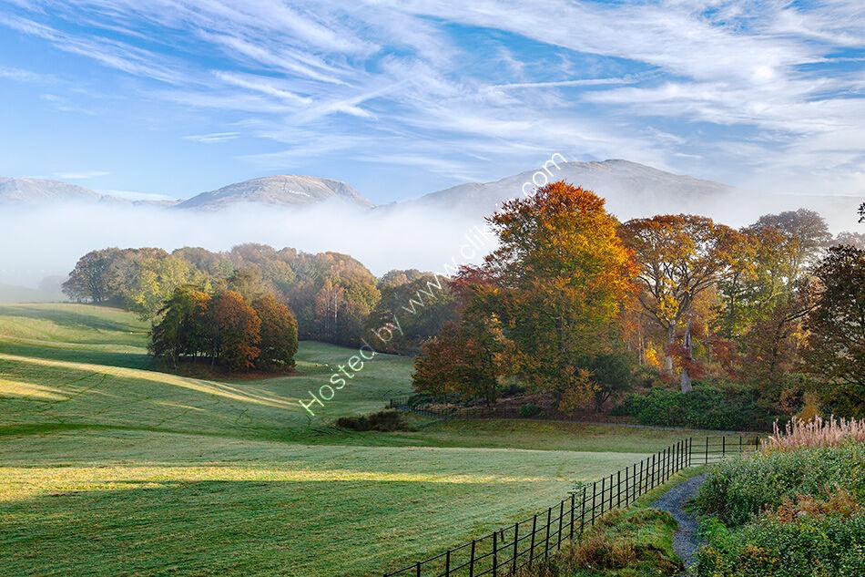 Autumn at Wray Castle