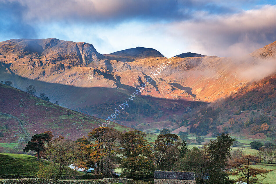 Dovedale at first light