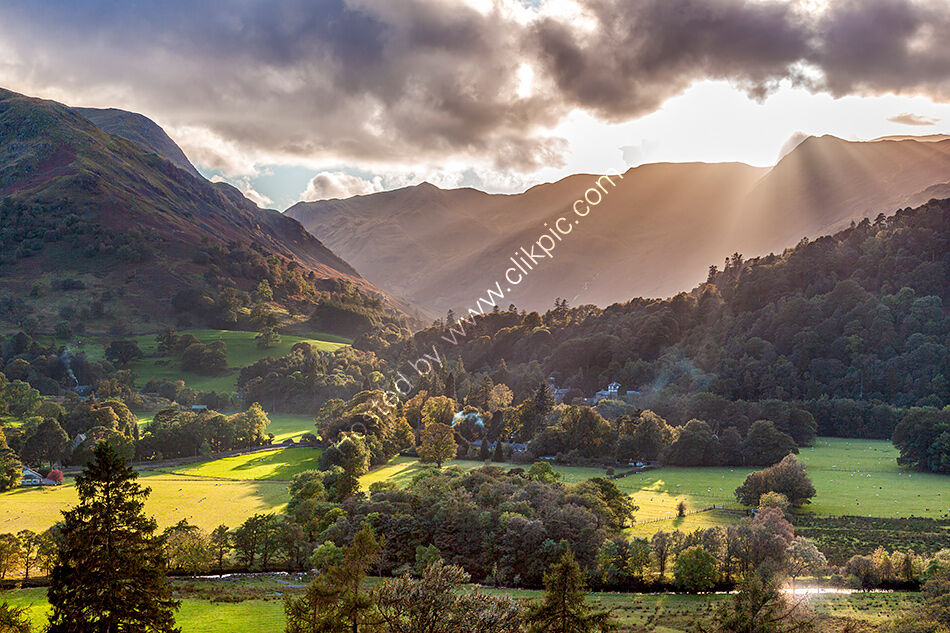 Patterdale in the evening sunshine