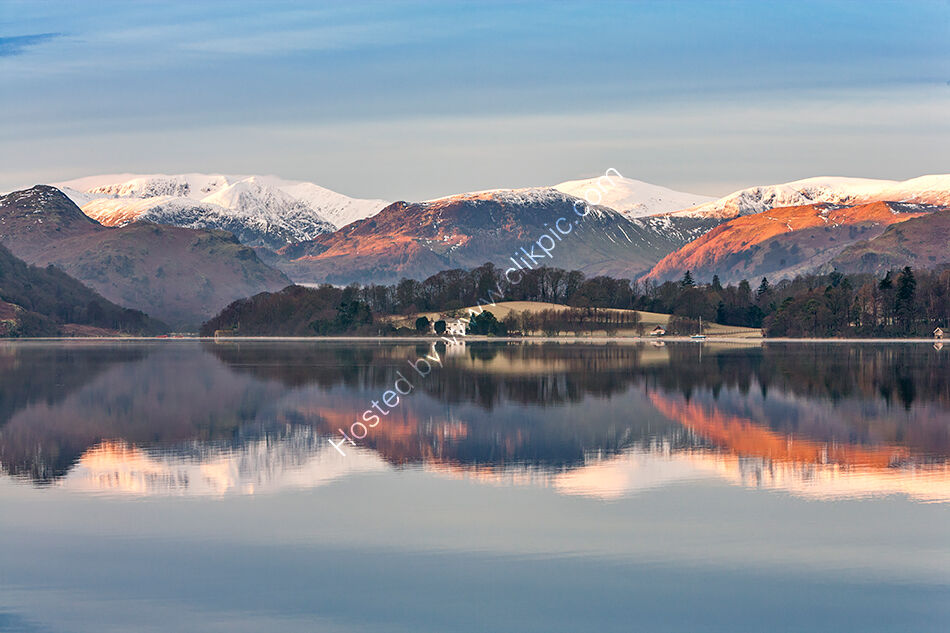 Ullswater at first light