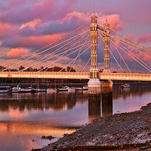 Albert Bridge sunset