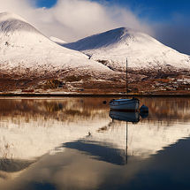 Loch Slapin Reflection