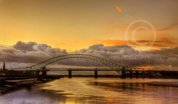 Runcorn Sunset .......