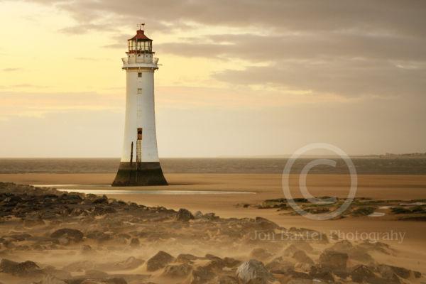 New Brighton Lighthouse ....