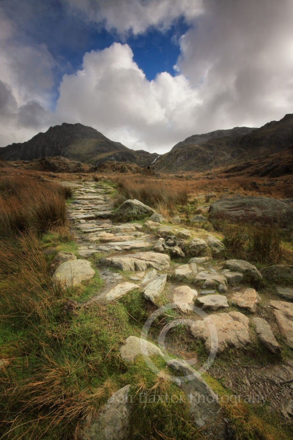 The Steps to Ogwen......