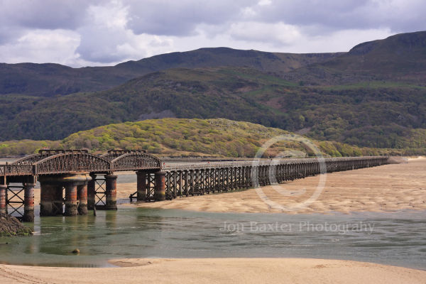 The barmouth Bridge