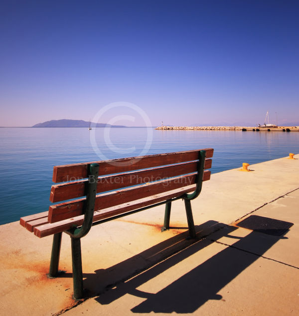 Bench and a Blue Sky ....