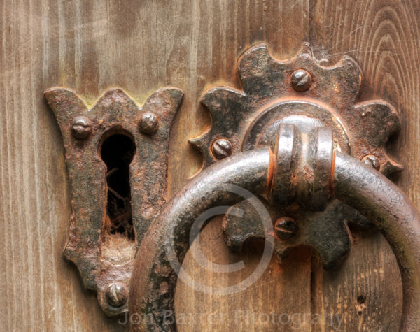 Old Church Door Lock.....