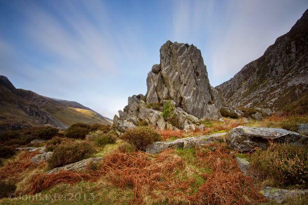 Ogwen Rock ....