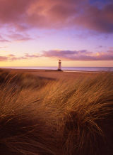 Talacre lighthouse .....