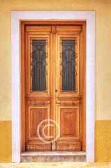 Wooden door......