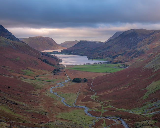 'Late light over Buttermere'