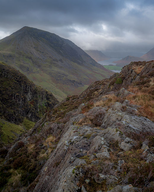 'High Crag from Haystacks'