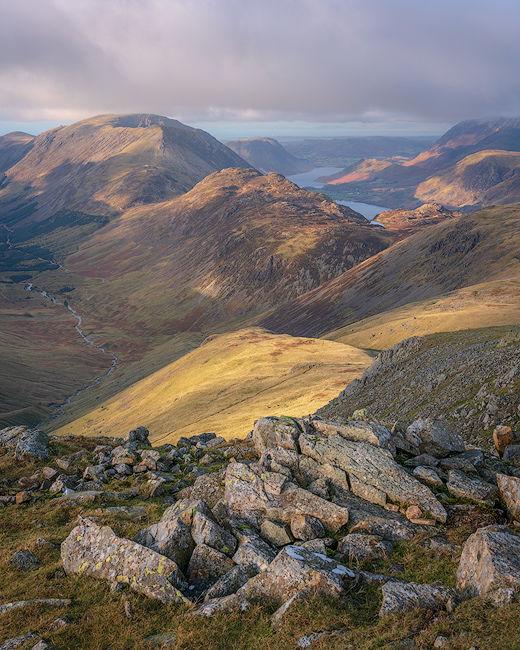 'High Stile Ridge from the Gables'
