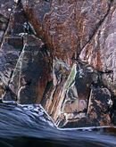 'Red Rock and Water'