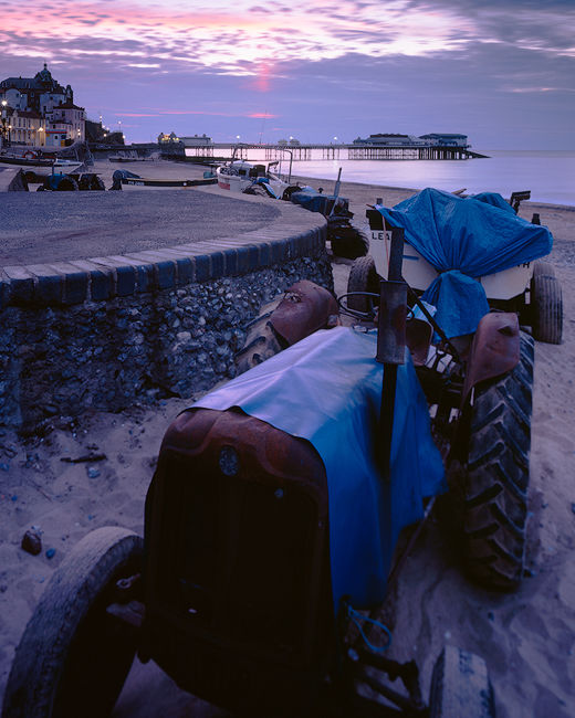 'Tractors at Cromer'