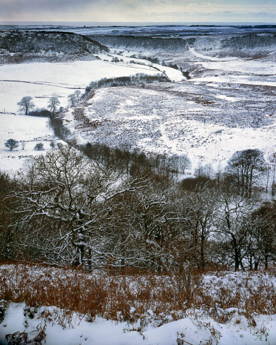 'Snow over the Hole of Horcum'