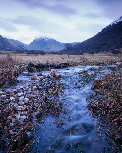 'Fleetwith Pike from Crummock Water'