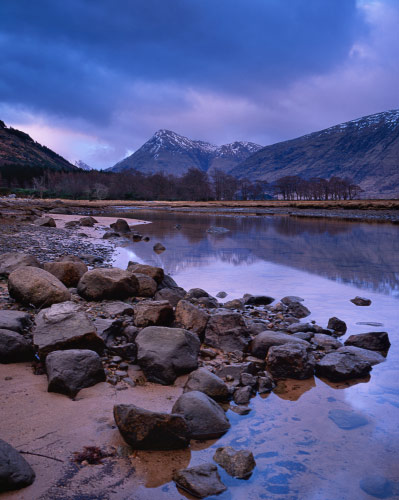 'Loch Etive at the end of the day'
