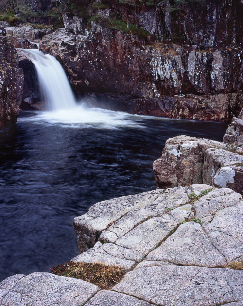 'Glen Etive Waterfall'