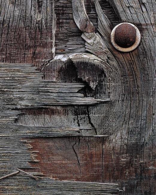 'Mulgrave #B' Door abstract'