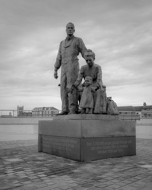 'Hadlocks sculputure at Bullnose, Hull Marina'