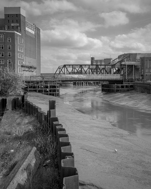 'The old Drypool Bridge'