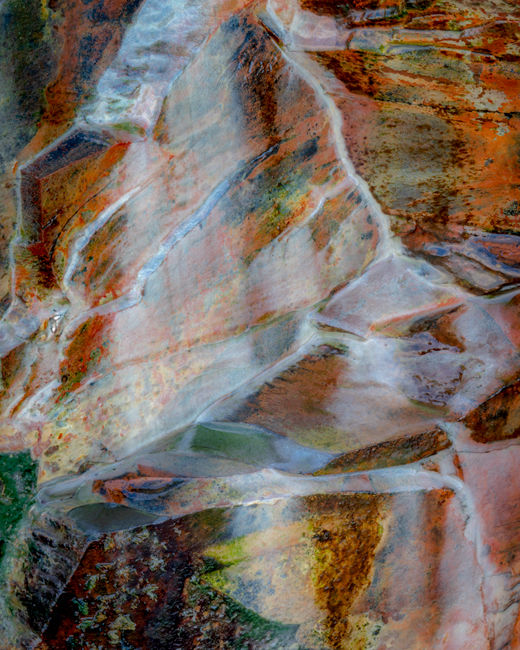 'Cliff abstract #2'