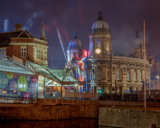 'Hull City of Culture Opening Celebrations in Victoria Square'