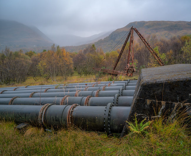 'Kinlochleven pipes'
