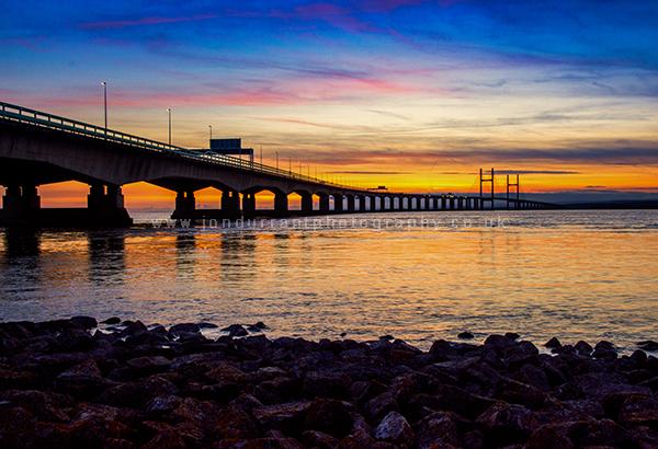 Severn Bridge Sunset 2