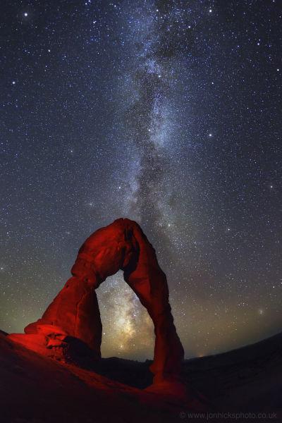 Arches National Park, USA.