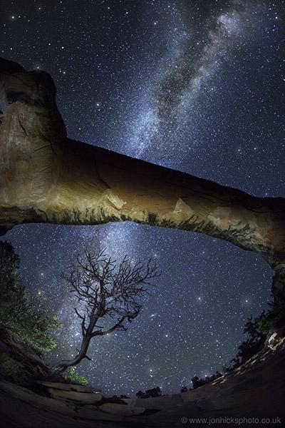 Natural Bridges National Monument, USA.