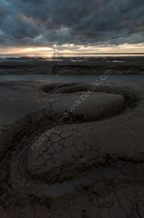 Snettisham Beach: Where Mud Meets Sand